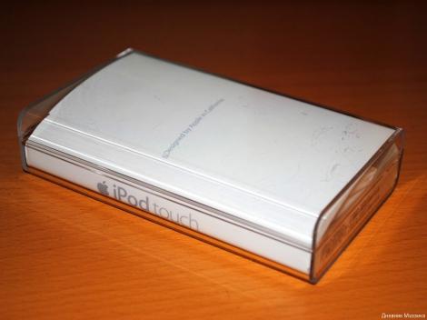 Пластиковый бокс - упаковка для Apple iPod touch