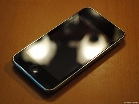 Apple iPod touch - лицевая сторона