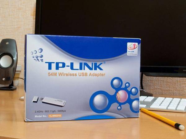 Упаковка от TP-LINK TL-WN321G