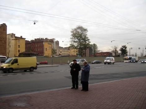 Дома у моста Петра Великого