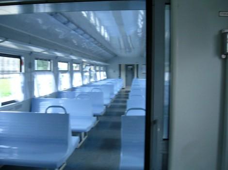 Поезд Плесков сиденья