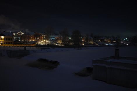 Улица Верхнебереговая, набережная реки Псковы