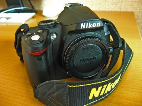 Nikon d3000 с ремнём