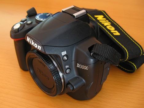 Кнопка вспышки и задержки спуска Nikon d3000