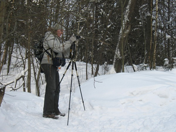 Фотографирую со штативом в Шуваловке