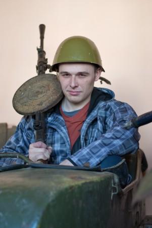 Konstantin - пулемётчик