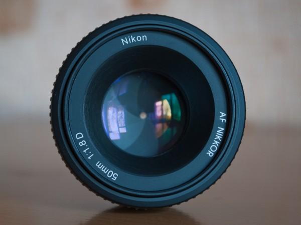 Диафрагма f/22 на Nikon 50mm f/1.8D AF Nikkor