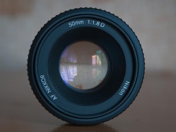 Диафрагма f/1.8 на Nikon 50mm f/1.8D AF Nikkor