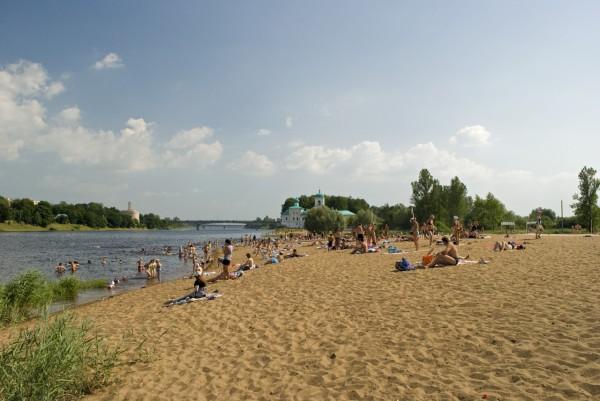 Псковский городской пляж