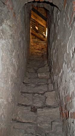 Лестница на чердак, последние несколько метров