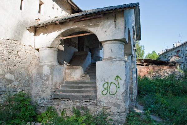 Крыльцо дома Печенко