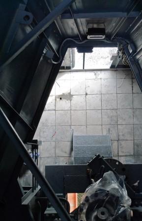 Внутренности башни со второго этажа