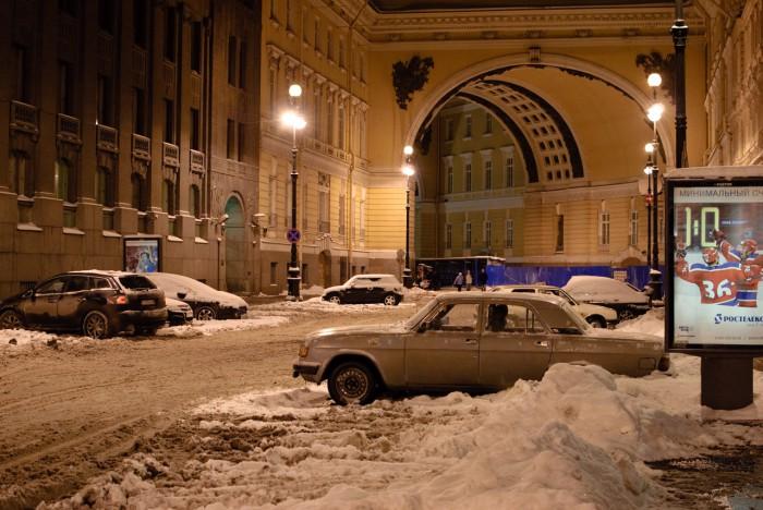 Арка Генштаба у дворцовой площади
