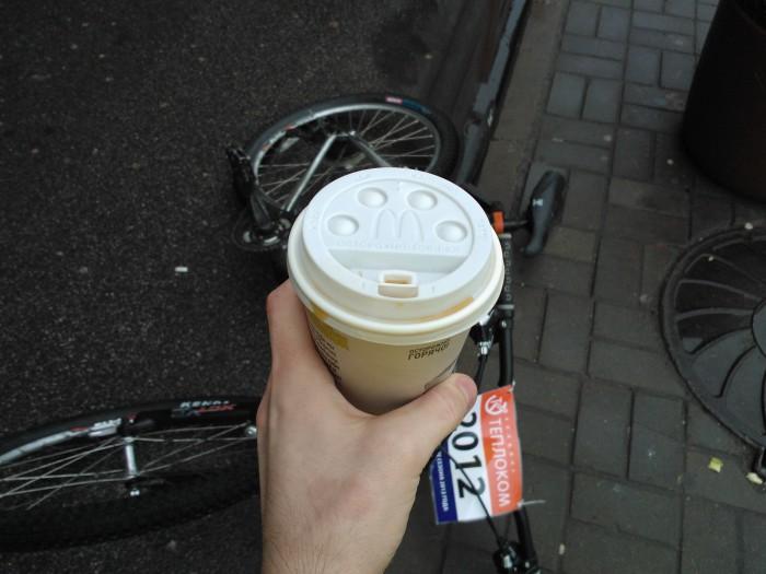 Спасительный горячий кофе