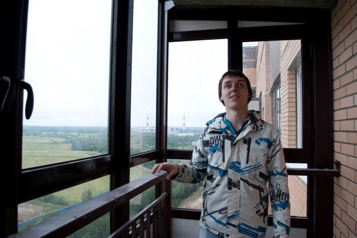 Я осматриваю балкон