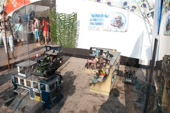 Площадка для боёв роботов