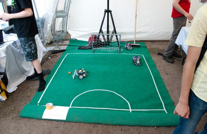 Площадка для робофутбола