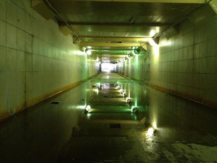 Гостеприимный подземный пешеходный переход