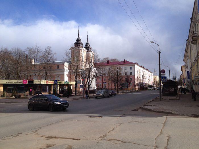 Улица Большая Санкт-Петербургская