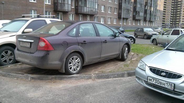 Газонная парковка