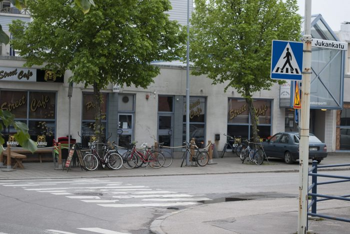 Велосипеды без охраны. Эххх...