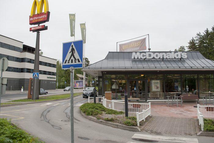 Вот так выглядит Макдоналдс в Иматре