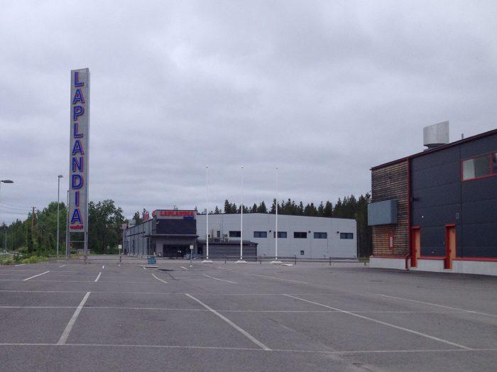 Лапландия у границы закрыта