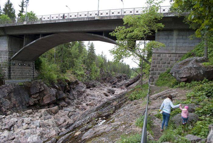 Мост роскомнадзора через Вуоксу