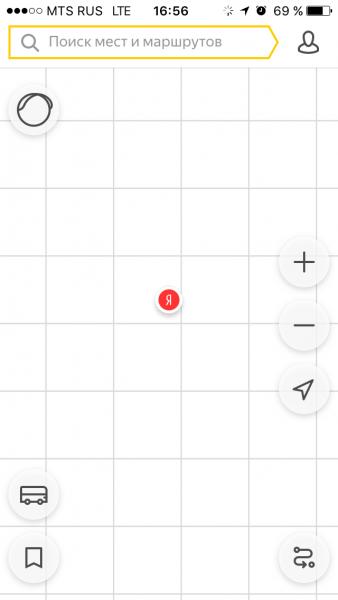 Яндекс траспорт не работает