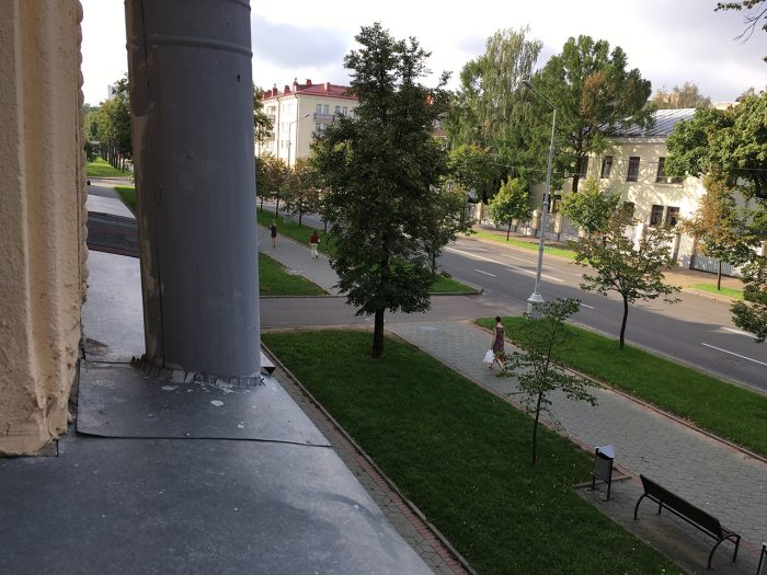 минск квартира вид из окна
