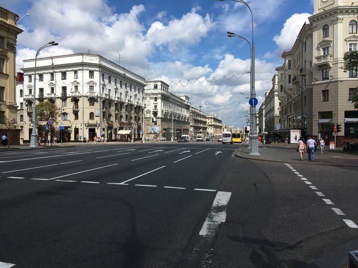 Проспект в Минске