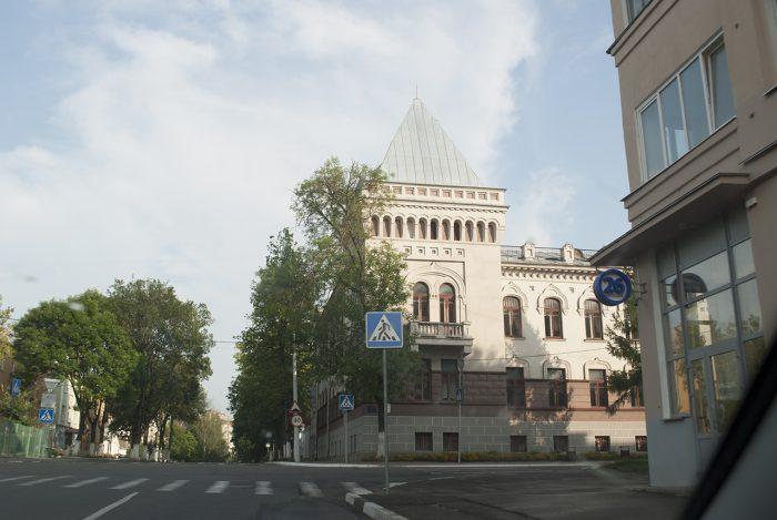 Красивое здание в Витебске