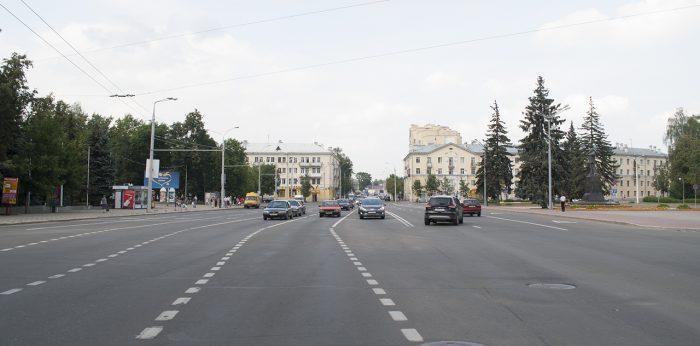 Широкая дорога в Витебске