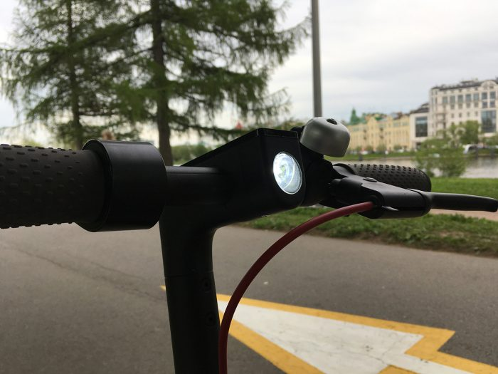 Xiaomi Mijia Scooter фонарик