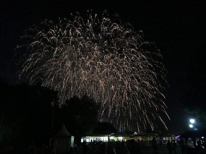 Заключительный салют пикника афиши 2017