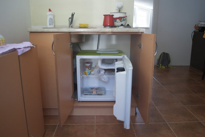 Кухня в апартаментах villa lazovic