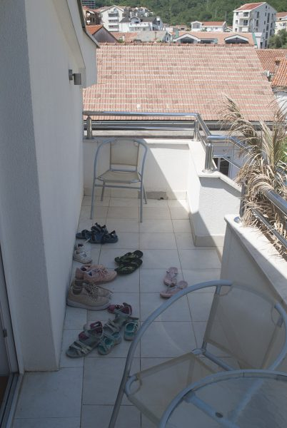 Балкон апартаметов villa lazovic