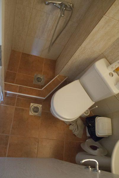 Ванная комната в апартаментах villa lazovic