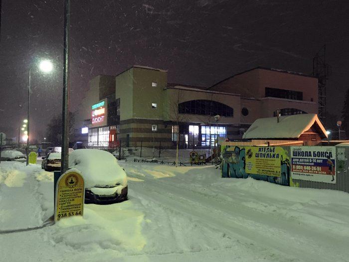 Незаконный торговый центр Лайм в Девяткино