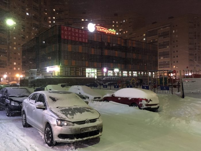 Новый торговый центр у ЖК Подкова