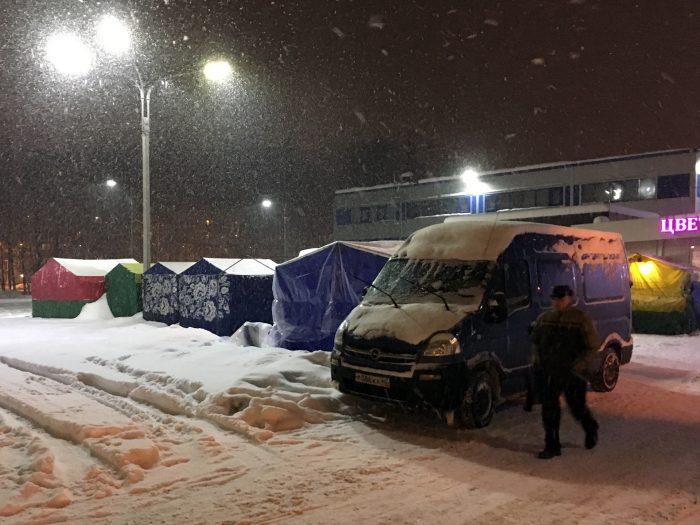 Палатки в Девяткино