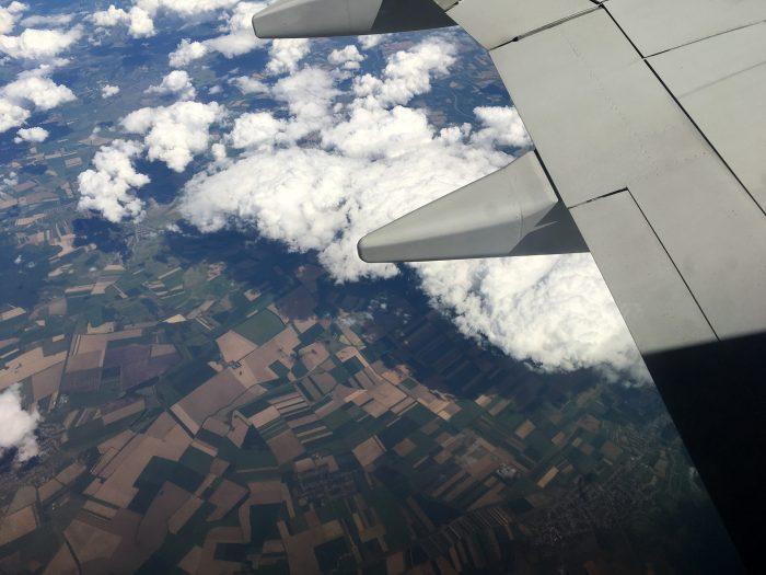 Черногория из окна самолёта