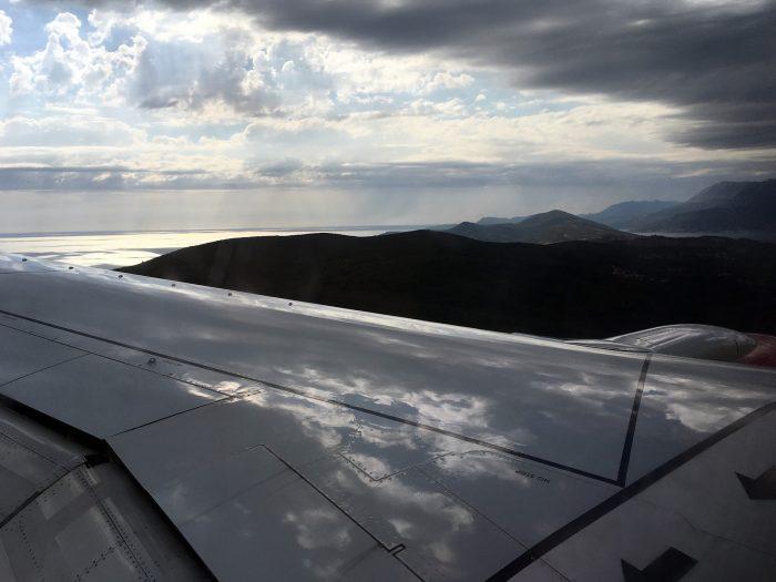 Посадка в Тивате в горах