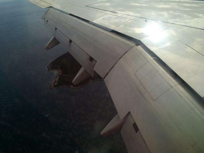 Посадка в Тивате