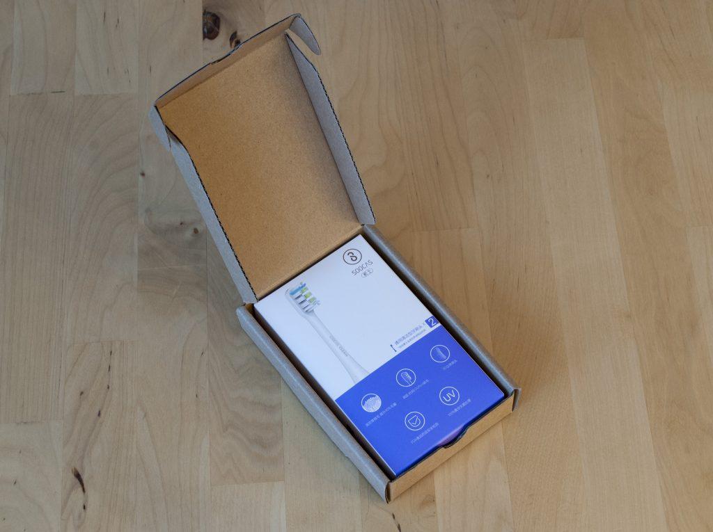 Сменные насадки Xiaomi Soocas Soocare в упаковке