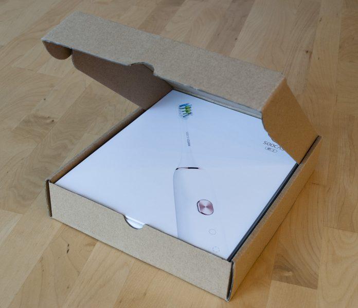 Упаковка щетки xiaomi soocas soocare x3