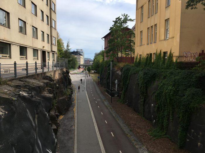 Велодорожки в хельсинки