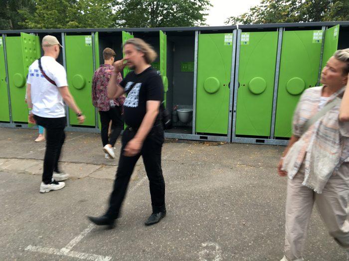 туалеты на flow festival