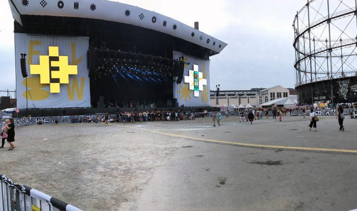 главная сцена Flow Festival