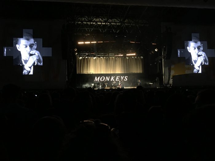выступление Arctic Monkeys на Flow Festival